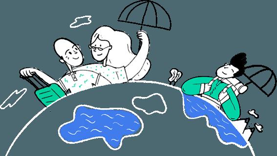 Assurances voyages et PVT